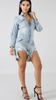 Disha Denim Romper