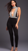 Tina Broken Diamond Jumpsuit