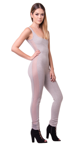 Renee Mesh Jumpsuit