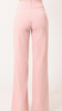 Sasha Soft High-Waisted Pants W/Gold Front Buckle