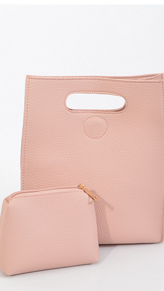 Soft Pink Girl's Bag
