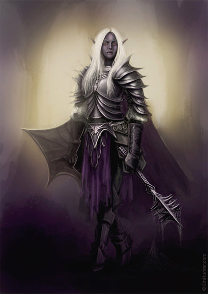 Female Drow - Em Hunter