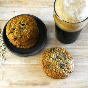 The Drunken Cookie: Oatmeal Stout Cookies