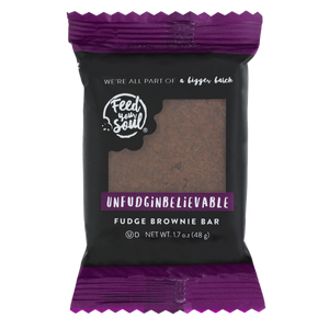 60 PIECE INDIVIDUALLY WRAPPED UNFUDGINBELIEVABLE BROWNIES
