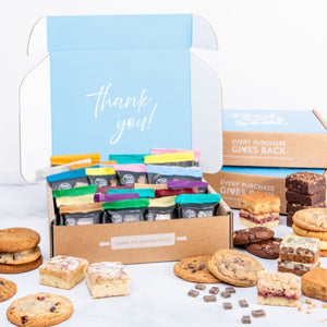 Sweet Thank You Cookie & Brownie Box (24 pc)