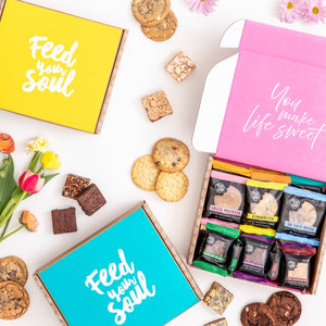 You Make Life Sweet Dessert Box 24 pc