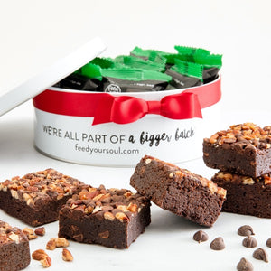 Vegan Brownie Gift Tin