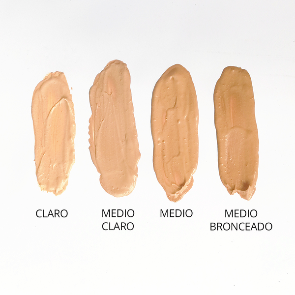 Maquillaje piel normal - seca tono medio