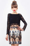 Metal Mouth Sequin Skirt