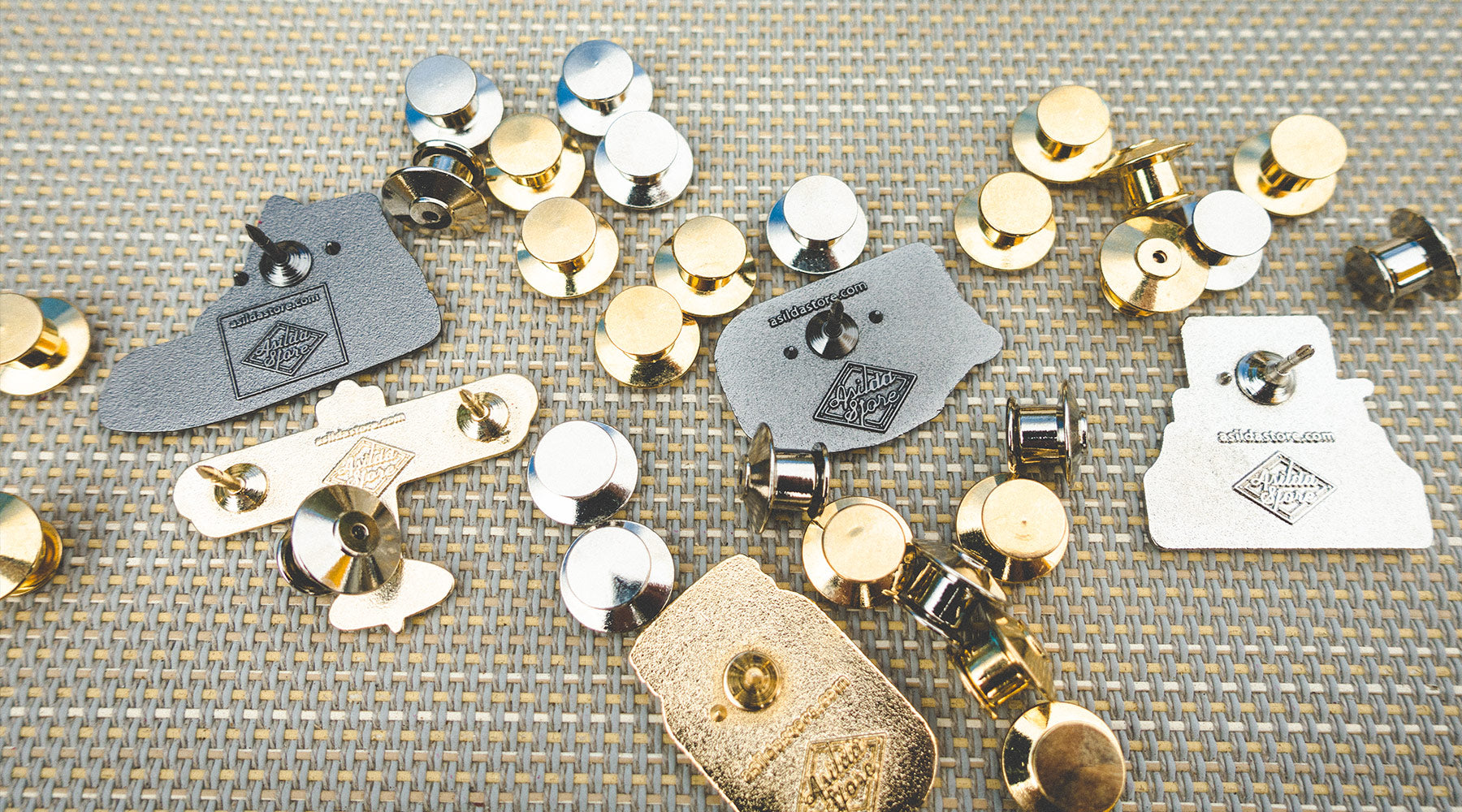 Locking Pin Backs: How to Keep Your Pins Secure - Asilda Store