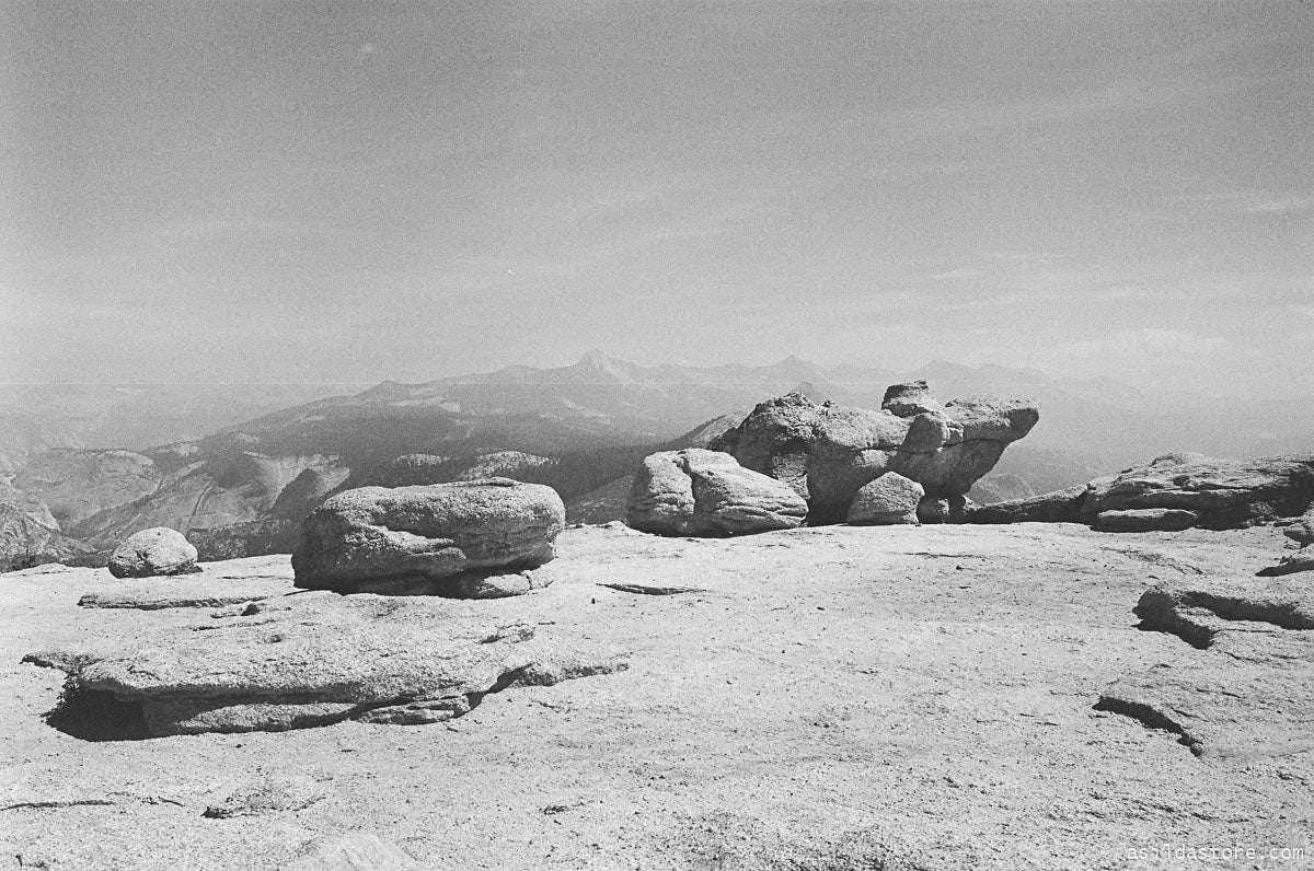 Sentinel Dome in Yosemite. Shot on 35mm film HP5 and Leica M6