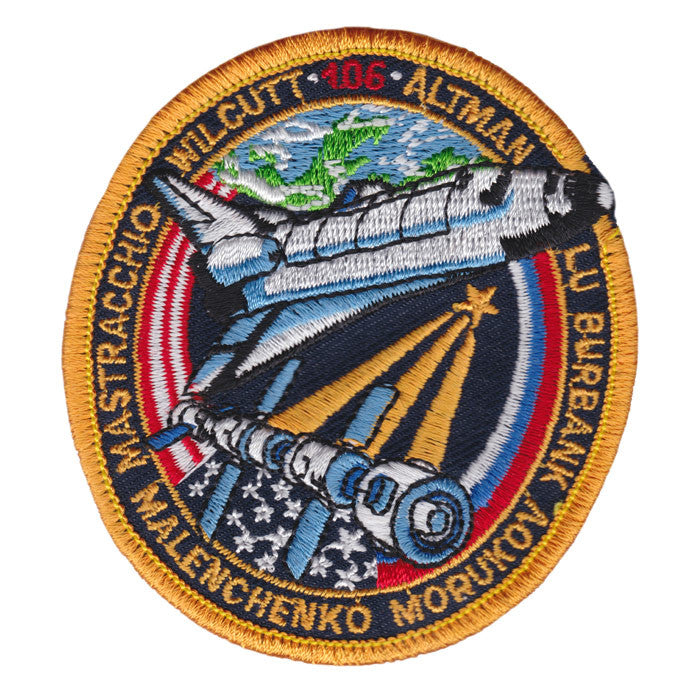 Space flight N.A.S.A sew on or Iron on patch New design