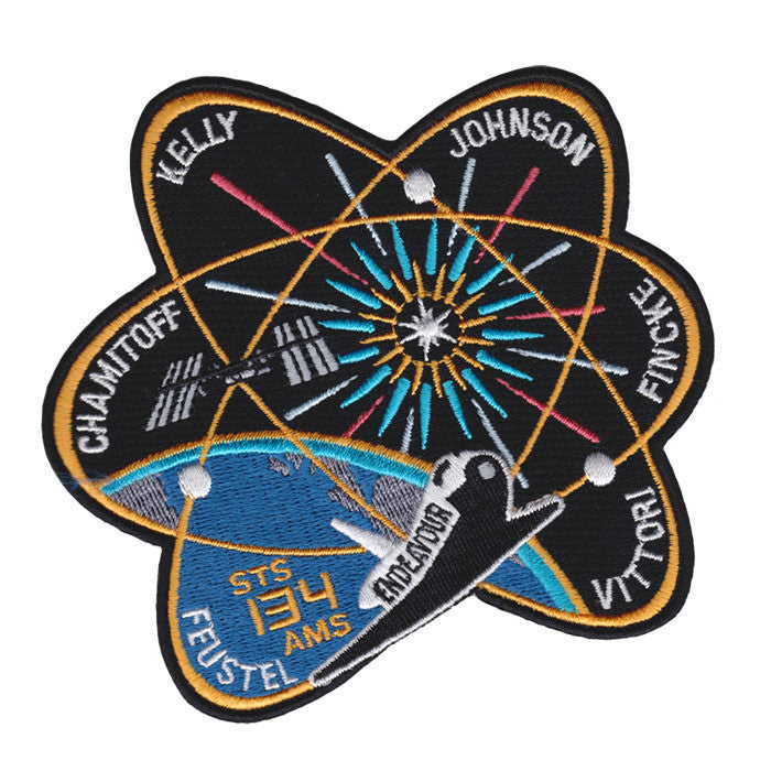 space mission patch maker