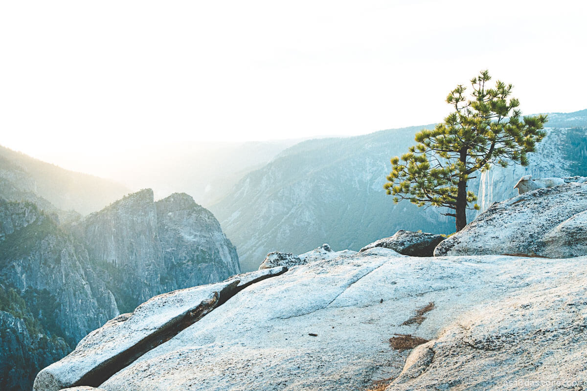 California Places to Go - Yosemite Taft Point