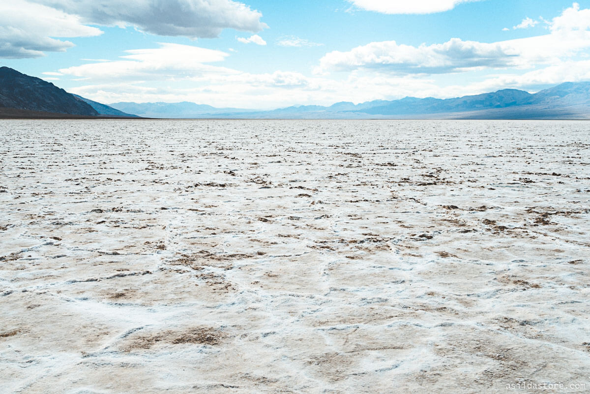 California Places to Go - Badwater Basin