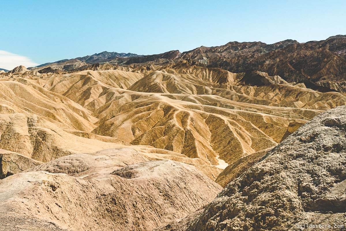 California Places to Go - Zabriskie Point