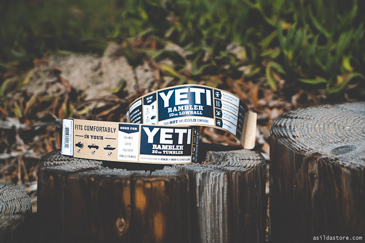 YETI rambler packaging