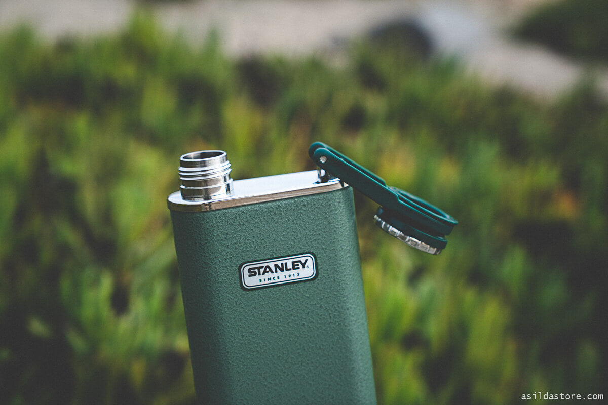 Stanley flask and insulated bottle