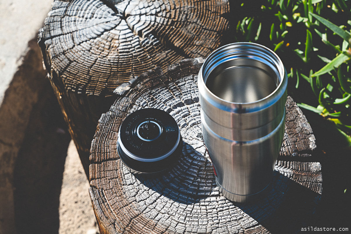 Thermos insulated bottle