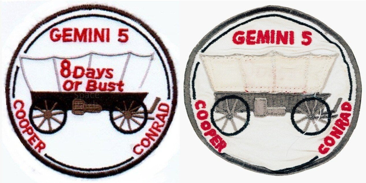 Gemini 5 NASA Mission Patches - on Asilda Store Blog
