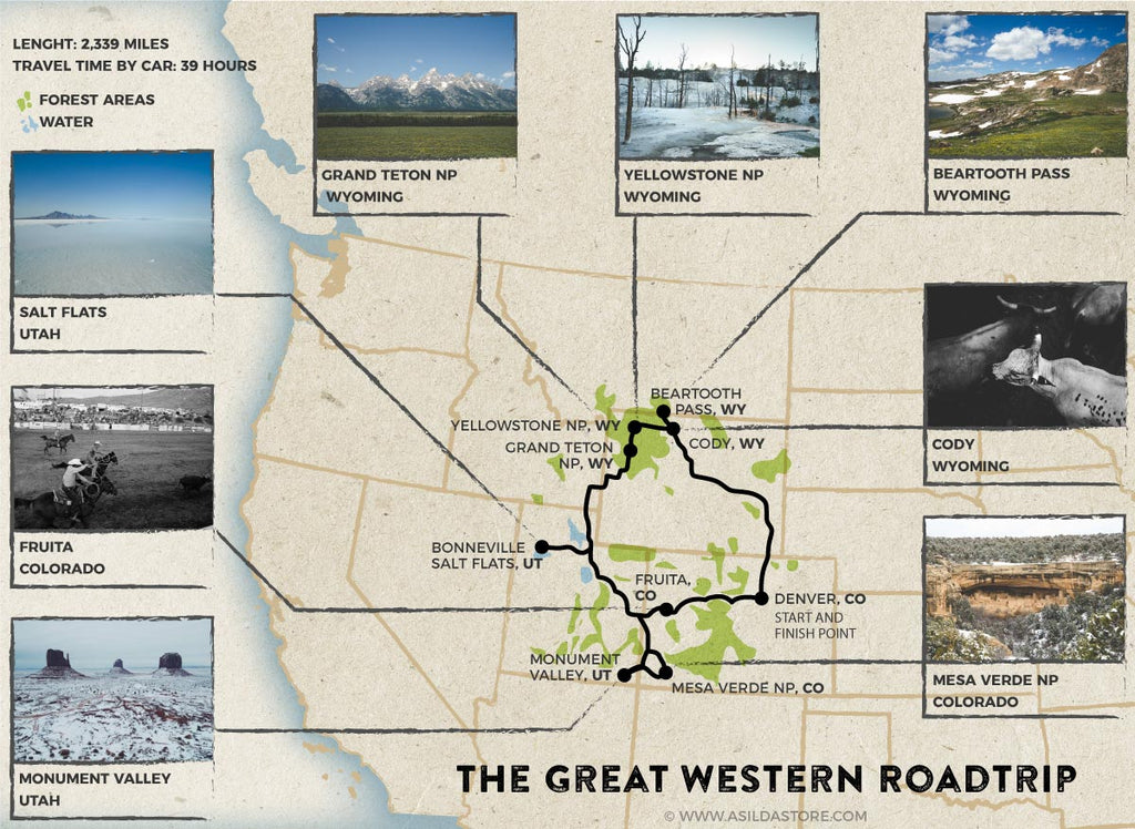 The Great Western Roadtrip Across Utah, Wyoming, and ...