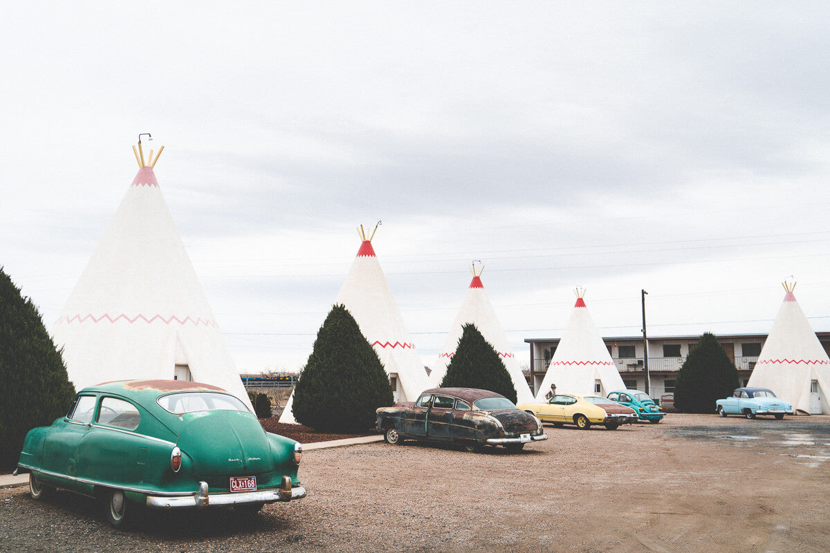 Route 66 Attractions: Wigwam Motel, Holbrook AZ