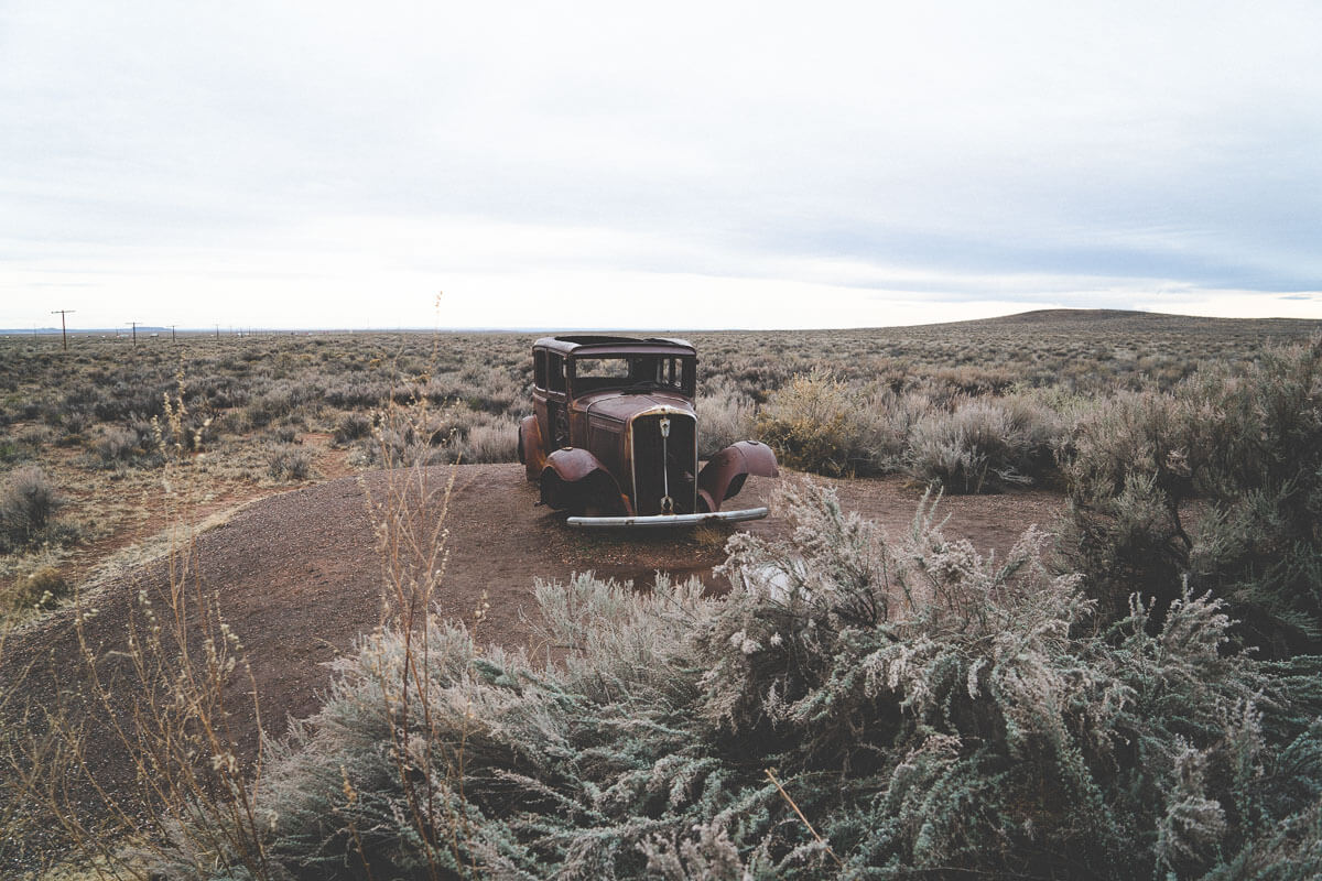 Route 66 Attractions: Petrified National Forest