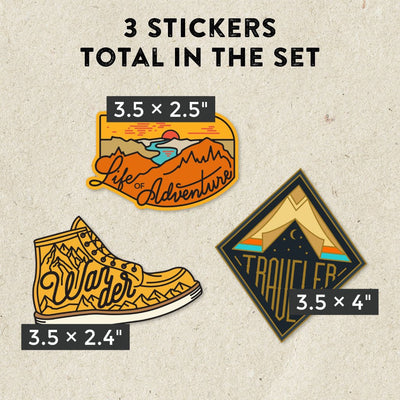 Adventure Sticker Set #1