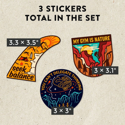 Adventure Sticker Set #4
