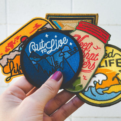 Adventure 5 Patch Variety Pack