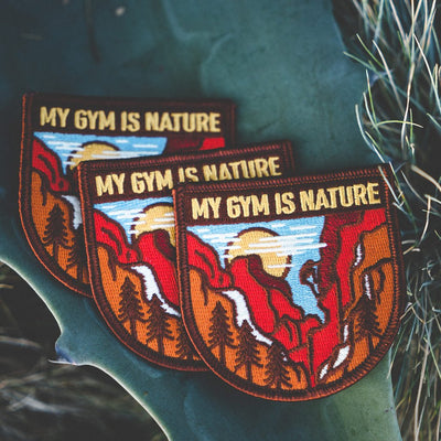 My Gym is Nature Patch