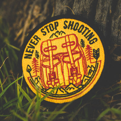 Never Stop Shooting Patch