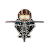 Motorcyclist Pin
