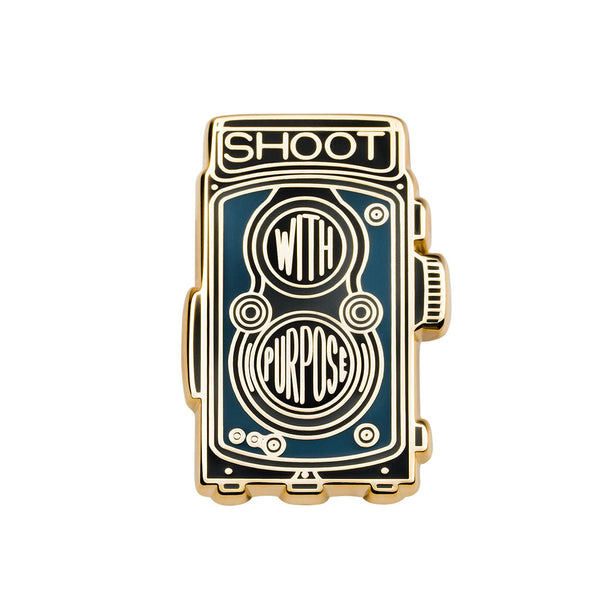 Shoot with Purpose Pin