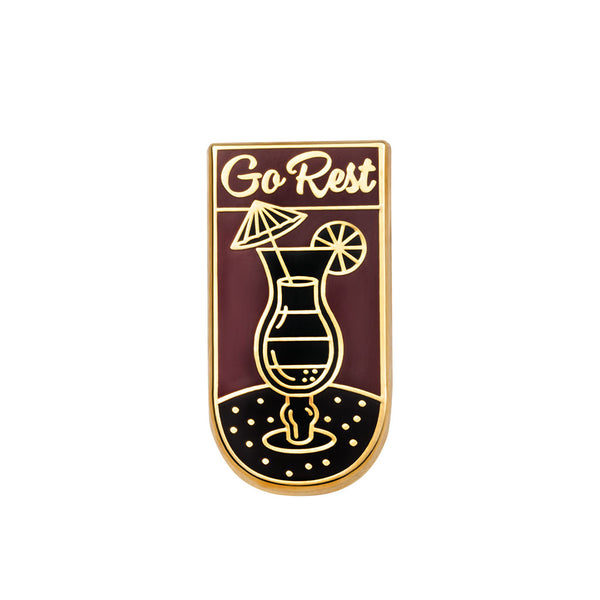 Go Rest Pin