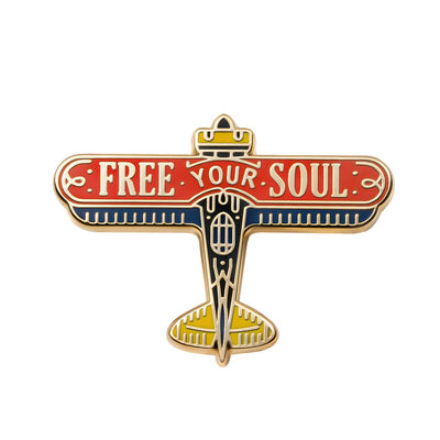 Free Your Soul Pin