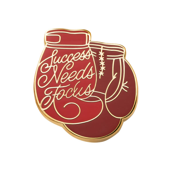 Success Needs Focus Pin