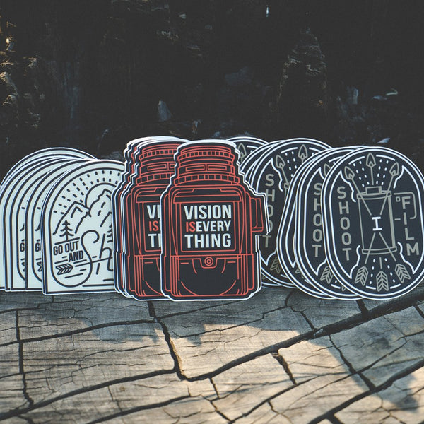 Film Camera Sticker Set #3