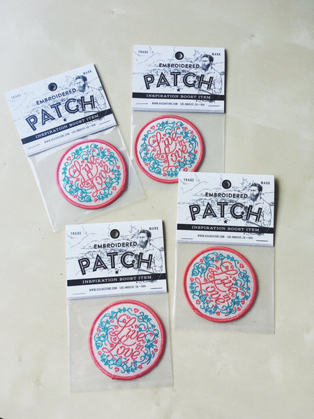 Live in Love Patch