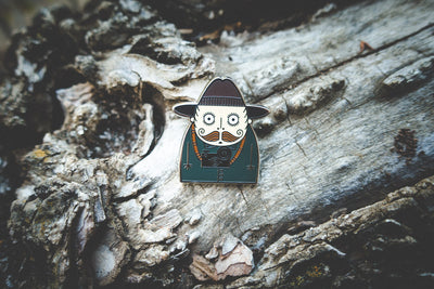 Pin - Vintage Photographer Pin