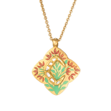 'Flame of Bengal' Roya Initial Necklace 'C'