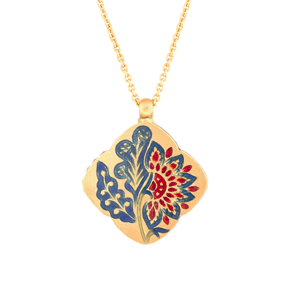 'Chintz Dynasty' Roya Necklace