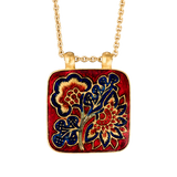 'Chintz Dynasty' Roya Initial Necklace 'S'