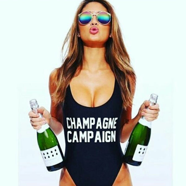 CHAMPAGNE CAMPAIGN Backless Mono