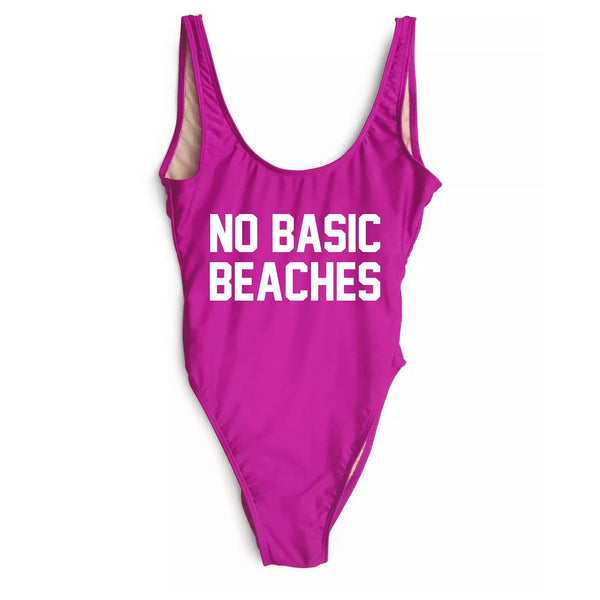 NO BASIC BEACHES Backless Mono