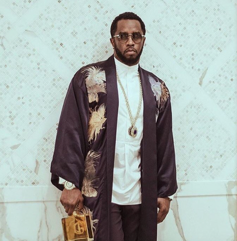 P.Diddy wearing the Legion Cuff