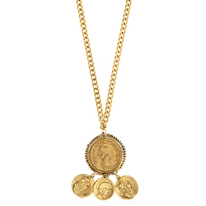 Queen Elizabeth Roman Necklace -