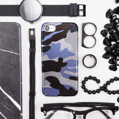 blue_metallic_camo_iphone_case