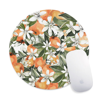 Citrus Flowers Mouse Pad - Supply Square