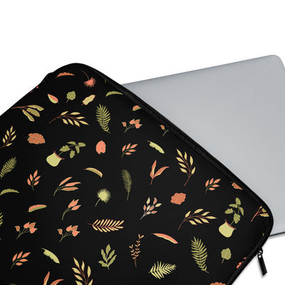 Delicate Leaves Laptop Sleeve - Supply Square